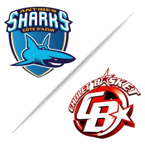 ANTIBES SHARKS / CHOLET - CHAMPIONNAT BASKET-BALL PRO A