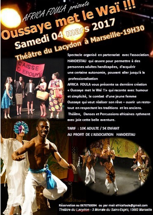 SPECTACLE OUSSAYE MET LE WAI