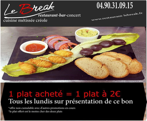 Soirées au restaurant-bar musical le Break