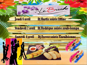 Soirées latine zouk au restaurant-bar le Break au Pontet