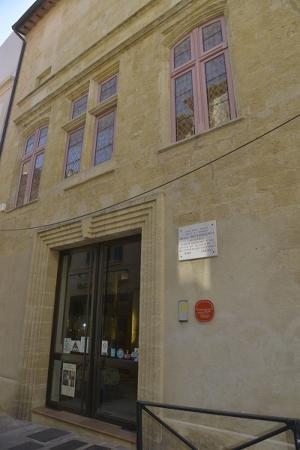 Visite de la maison de nostradamus nuit des mus es 2017 for Visite maison de star