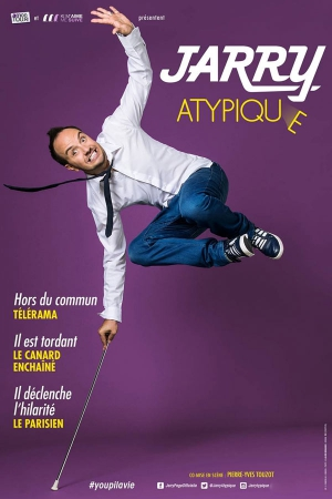 "JARRY ""ATYPIQUE"" - FESTIVAL AVIGNON OFF 2017"