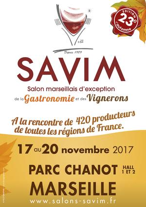 23 me savim automne parc expo chanot marseille cedex 08 for Salon gastronomie 2017