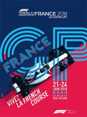 grand prix de france formule 1 pass 3 jours circuit paul ricard le castellet 83330. Black Bedroom Furniture Sets. Home Design Ideas