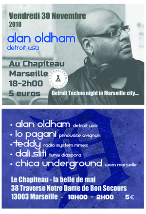 Alan Oldham / Detroit in Marseille