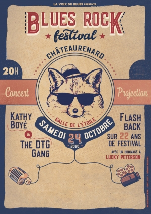 KATHY BOYE & THE DTG GANG + FILM - BLUES ROCK FESTIVAL CHATEAURENARD