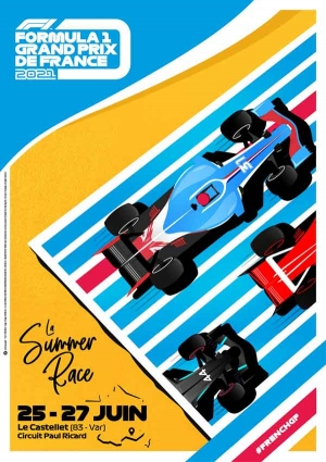 FORMULA 1 GRAND PRIZE OF FRANCE – WEEKEND PASS JUNE 26 AND 27, 2021 – PAUL RICARD CIRCUIT, Le Castellet, 83330 – Going out in Marseille