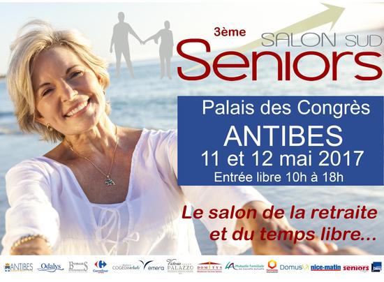 Le salon des seniors d 39 antibes palais des congr s d for Salon des seniors paris