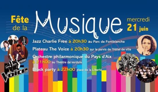 Plateau the voice devant la mairie f te de la musique 2017 parvis de l 39 39 h tel de ville - Fete de la musique 2017 date ...