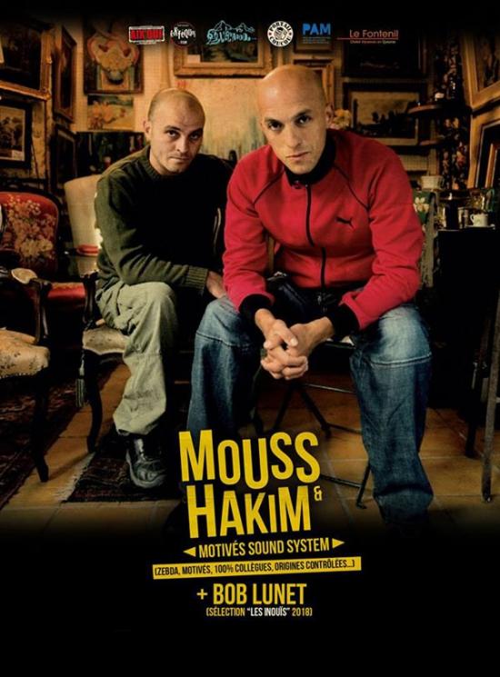 Mouss hakim motives sound system bob lunet rapapache for Sortir a salon de provence