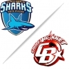 affiche ANTIBES SHARKS / CHOLET - CHAMPIONNAT BASKET-BALL PRO A