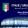 affiche ITALIE / URUGUAY - MATCH INTERNATIONAL