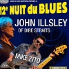 affiche 12E NUIT DU BLUES CARPENTRAS - JOHN ILLSLEY OF DIRE STRAITS / ZITO
