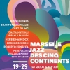 affiche KAMASI WASHINGTON - ROBERT GLASPER - MARSEILLE JAZZ DES CINQ CONTINENTS