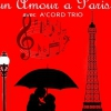 affiche UN AMOUR A PARIS - SPECTACLE MUSICAL
