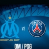 affiche OLYMPIQUE DE MARSEILLE / PARIS SG - LIGUE 1 CONFORAMA - 10EME JOURNEE