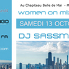 affiche Women On/ MIx Round 4 avec DJ SASSMOUTH