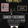 affiche Big Time! 2 big bands Espace Julien