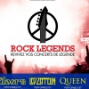 affiche ROCK LEGENDS - ONE NIGHT OF QUEEN - LETZ ZEP