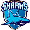 affiche ANTIBES SHARKS / LEVALLOIS - CHAMPIONNAT BASKET-BALL JEEP ELITE