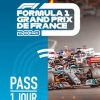 affiche GP FRANCE FORMULE 1 - PASS 1 JOUR