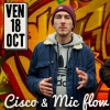 affiche CISCO HERZHAFT & MICFLOW - BEAT BOXING THE BLUES
