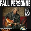 affiche NEAL BLACK / PAUL PERSONNE - BLUES ROCK FESTIVAL CHATEAURENARD