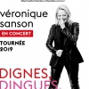 affiche VERONIQUE SANSON - DIGNES, DINGUES, DONC...