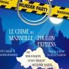 affiche MURDER PARTY - CRIME DU MARSEILLE-TOULON EXPRESS